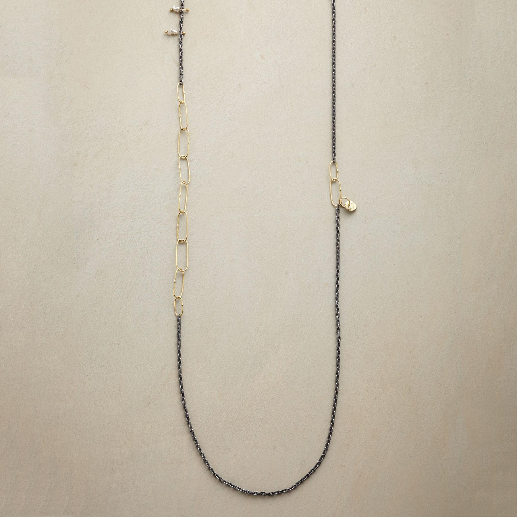 PINNED PEARL NECKLACE: View 1