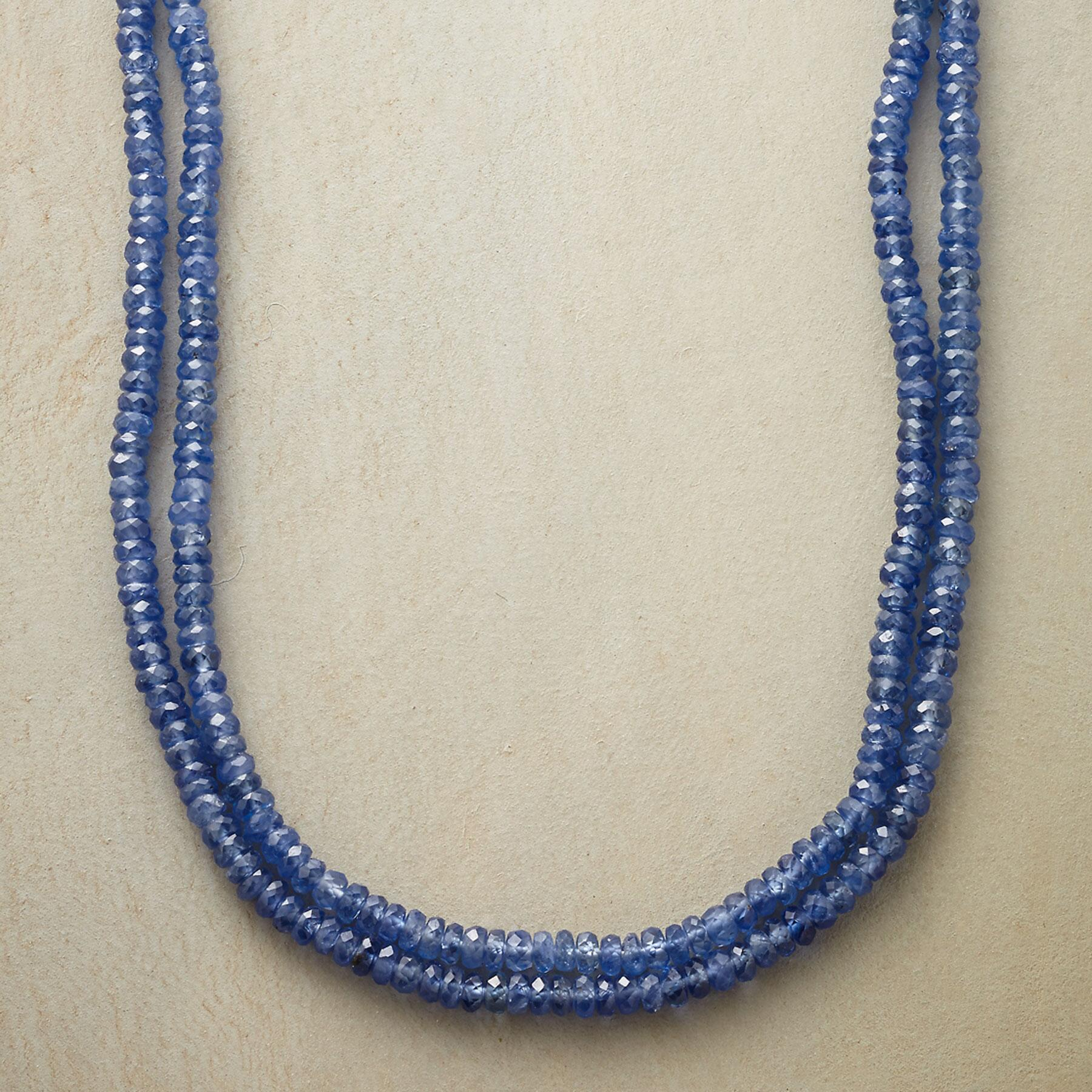 DOUBLE UP SAPPHIRE NECKLACE: View 1