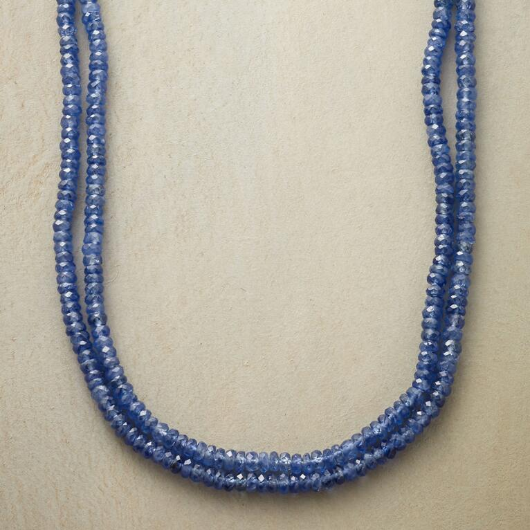 DOUBLE UP SAPPHIRE NECKLACE