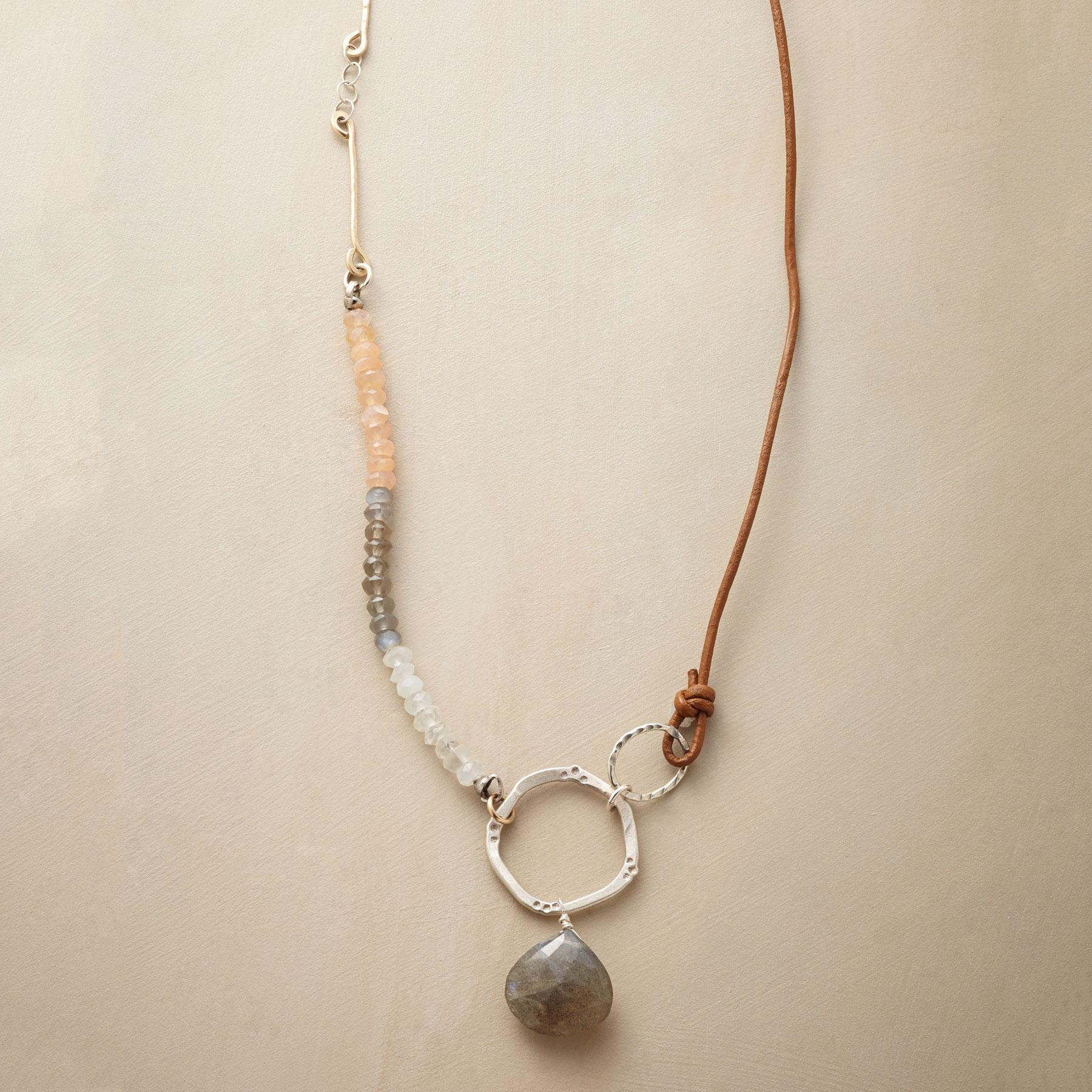 MOONSTONE MEDLEY NECKLACE: View 1