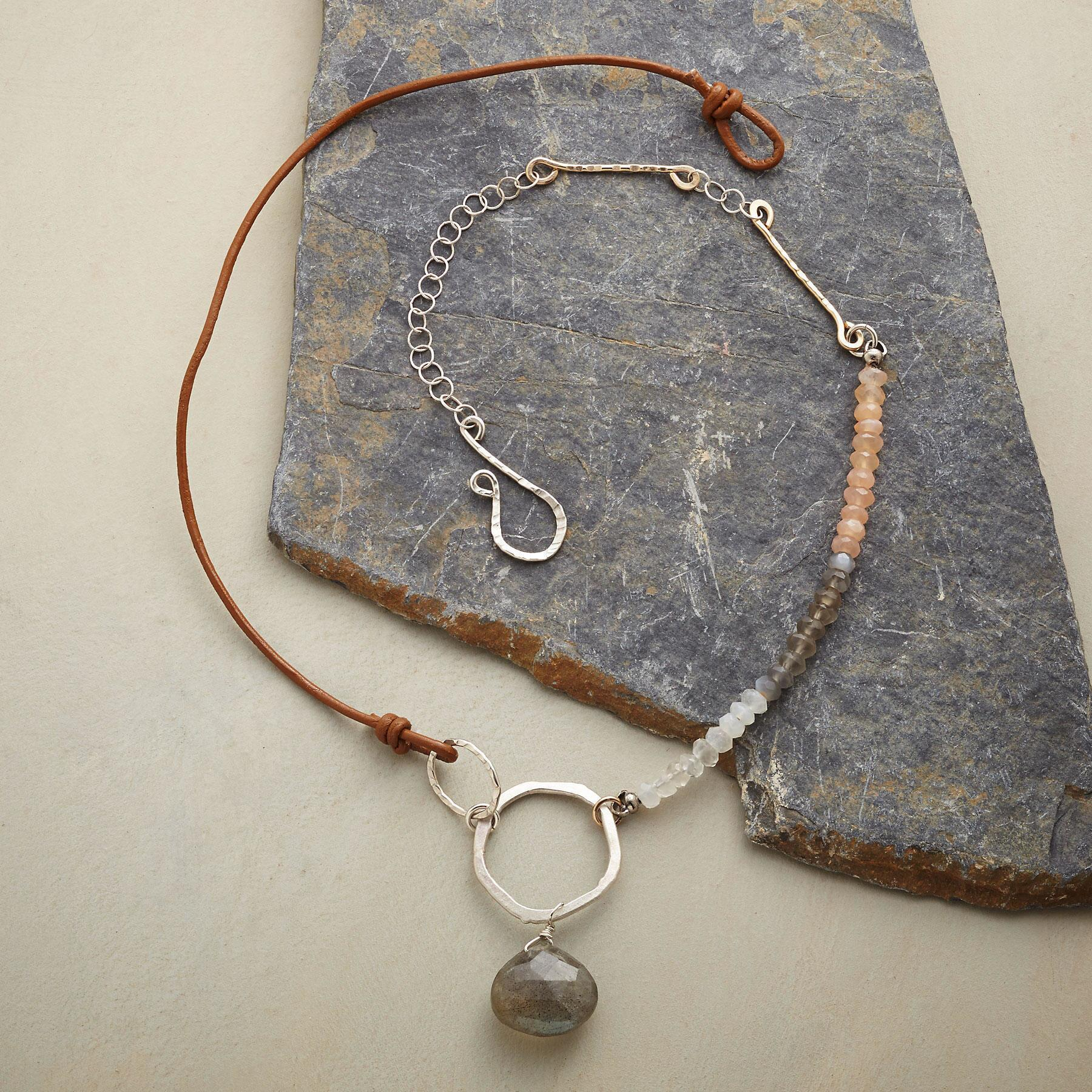 MOONSTONE MEDLEY NECKLACE: View 2