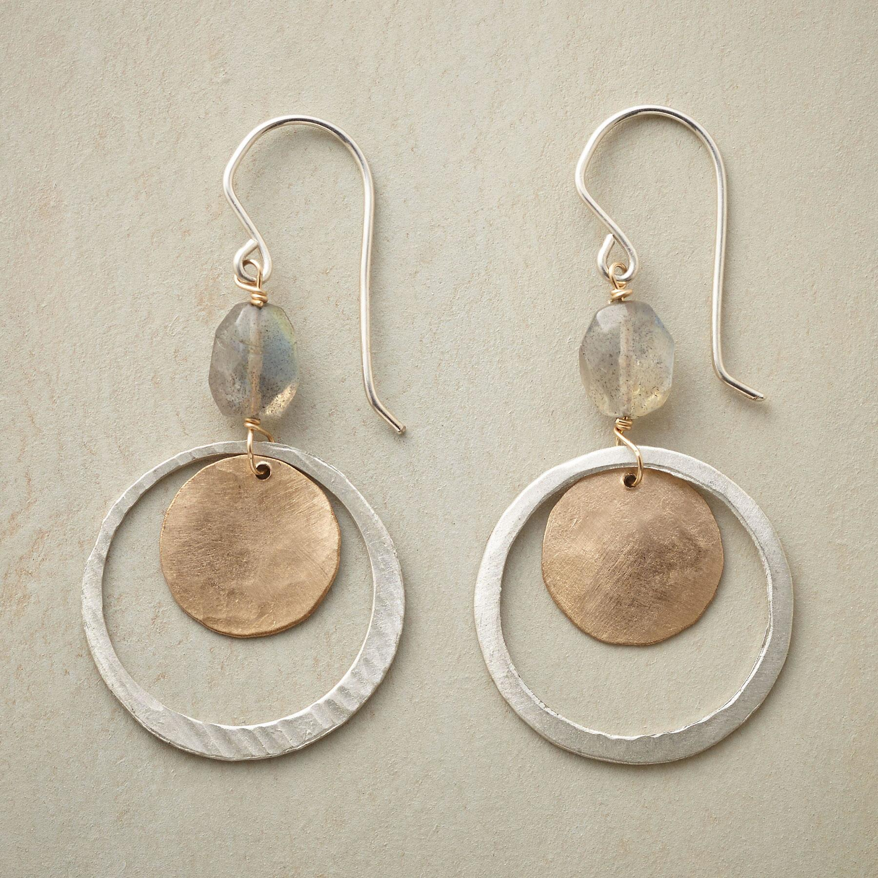 LUNAR ORBIT EARRINGS: View 1