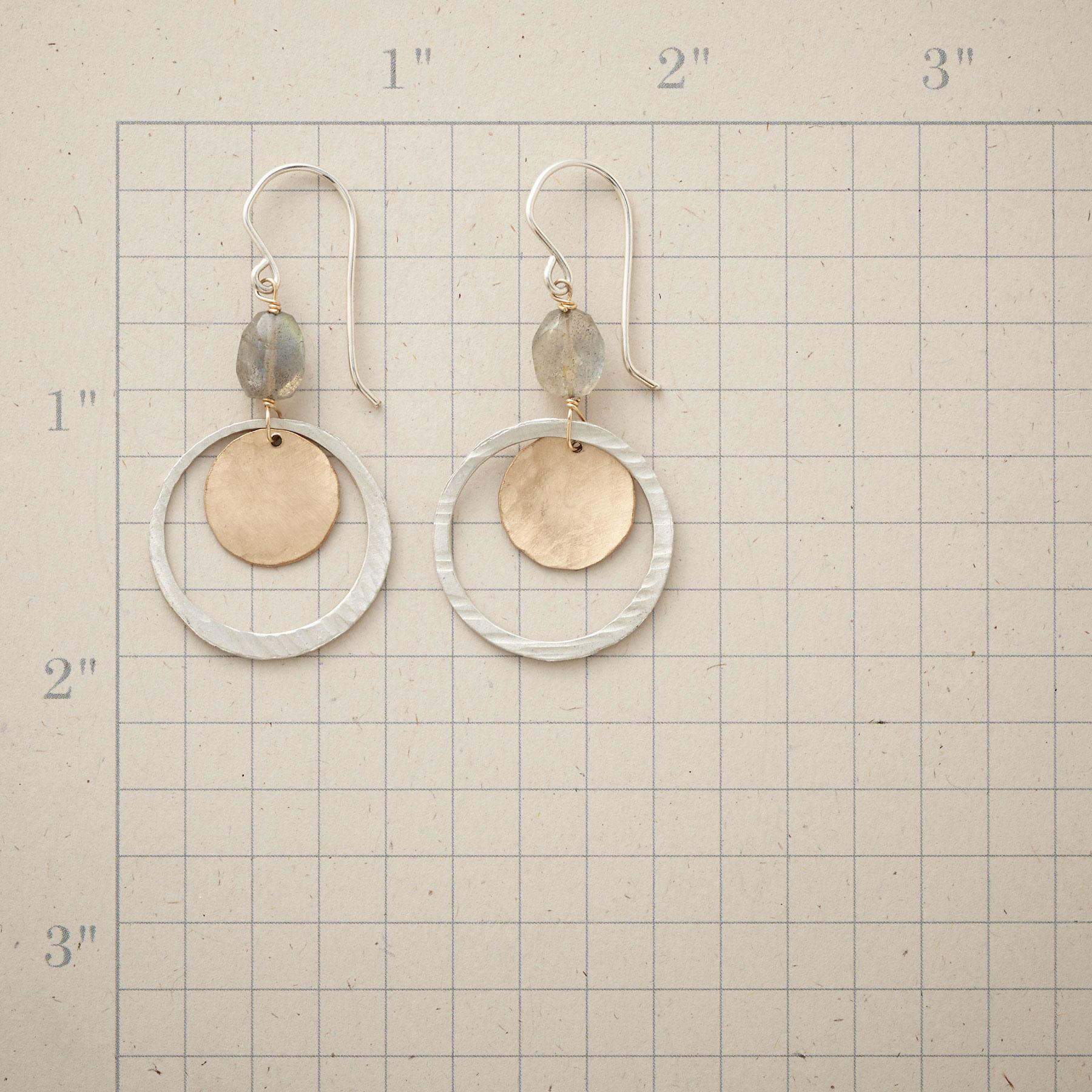 LUNAR ORBIT EARRINGS: View 2