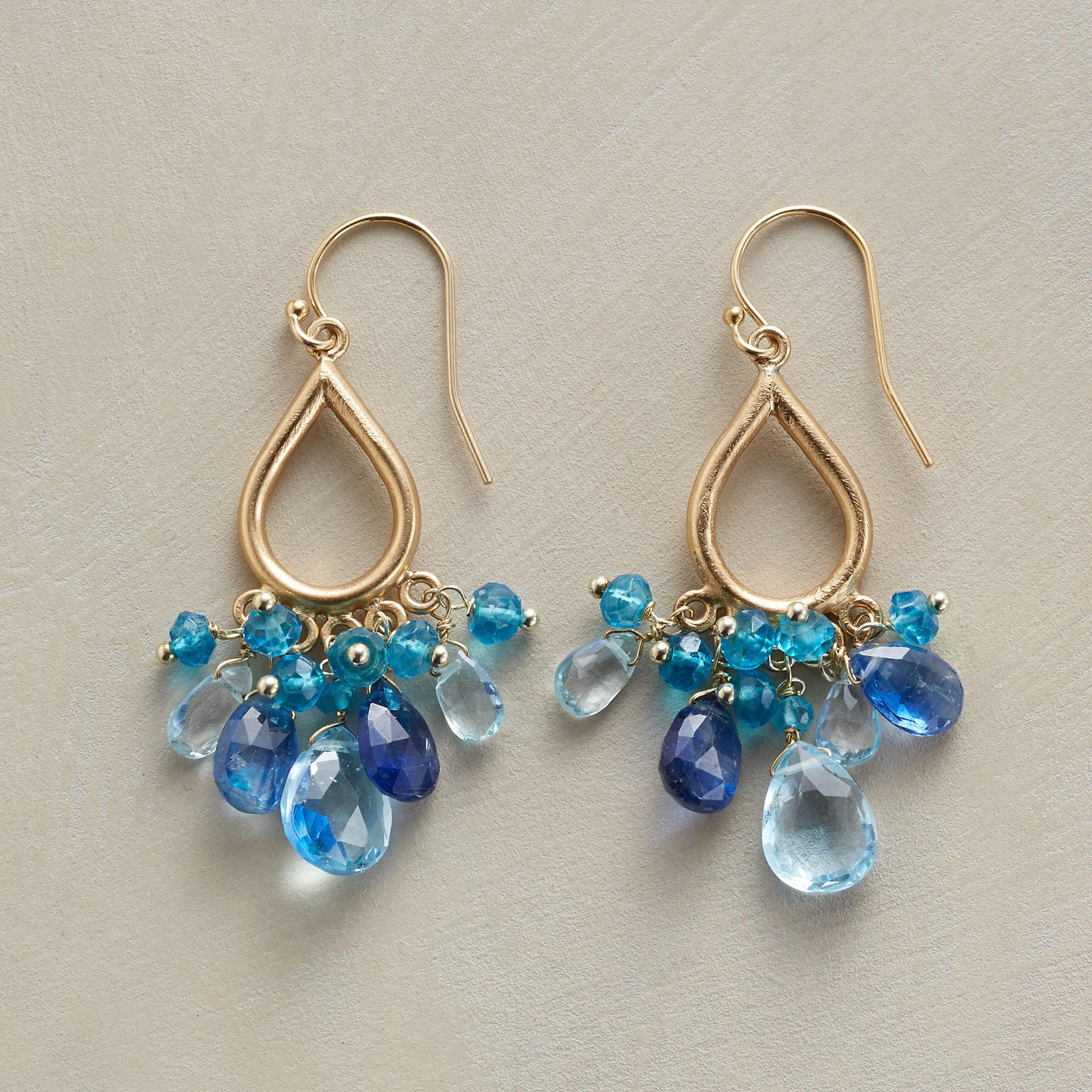 AQUA BELLA EARRINGS: View 1