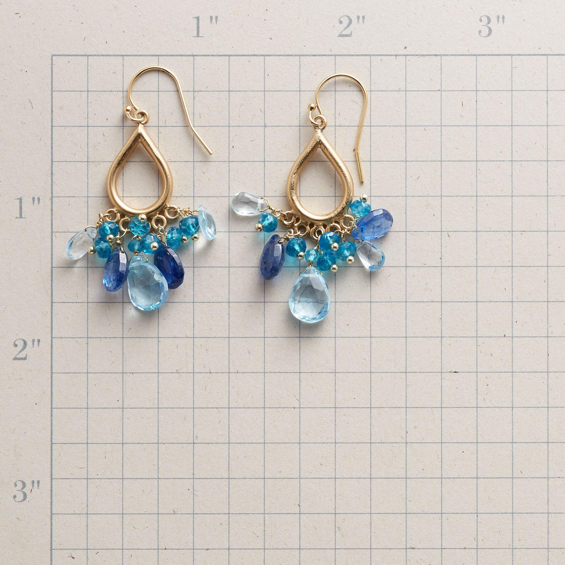 AQUA BELLA EARRINGS: View 2