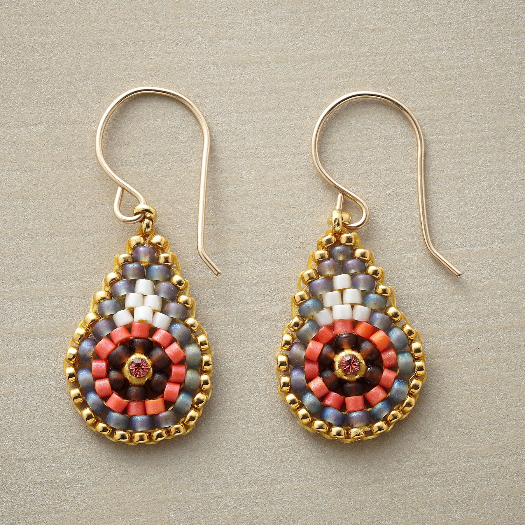 PAISLEY PATINA EARRINGS: View 1