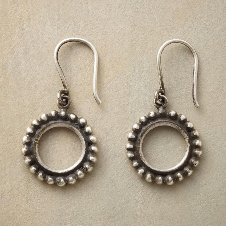 BEADED BOUNDARIES EARRINGS