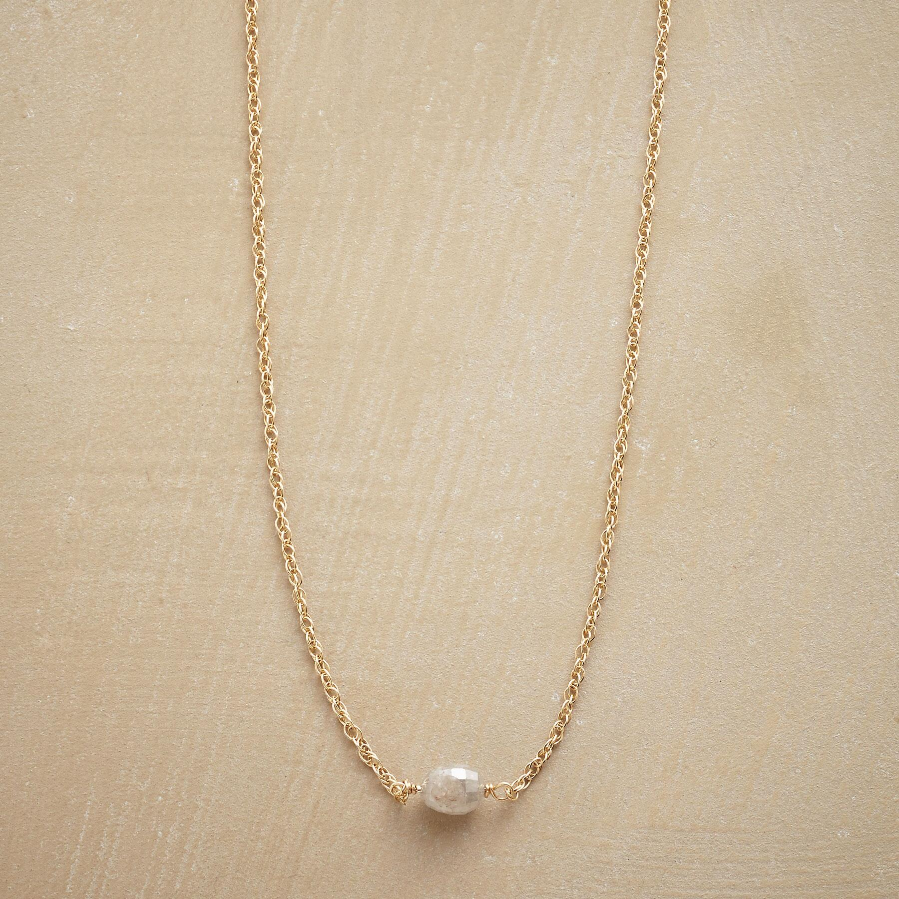 DAY BY DAY DIAMOND NECKLACE: View 1