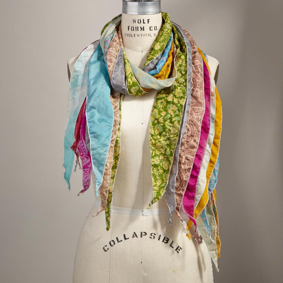 LAYERS OF LOVELY SCARF