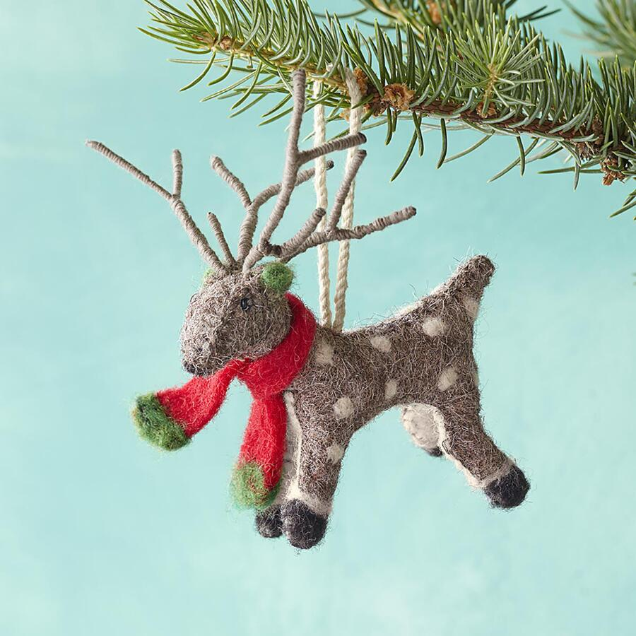 RICKY THE REINDEER ORNAMENT