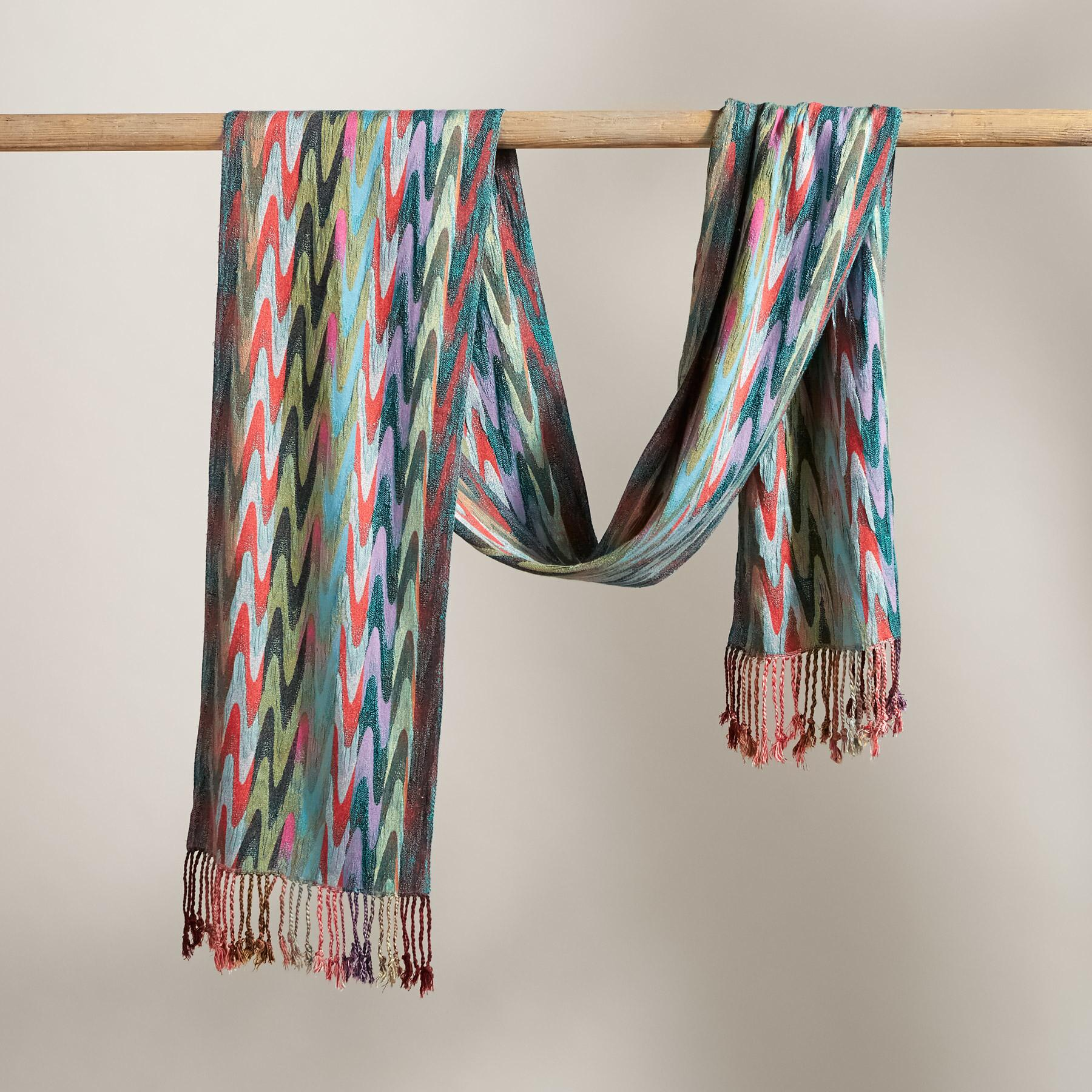 SIGNATURE STRIPES SCARF: View 2