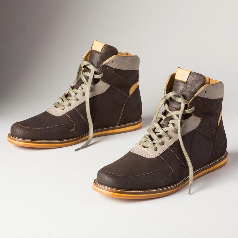 Intrepid Hi-Top Shoes