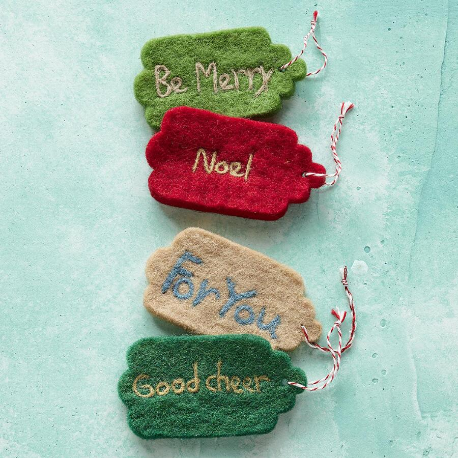 GOOD MESSAGE GIFT TAGS, SET OF 4