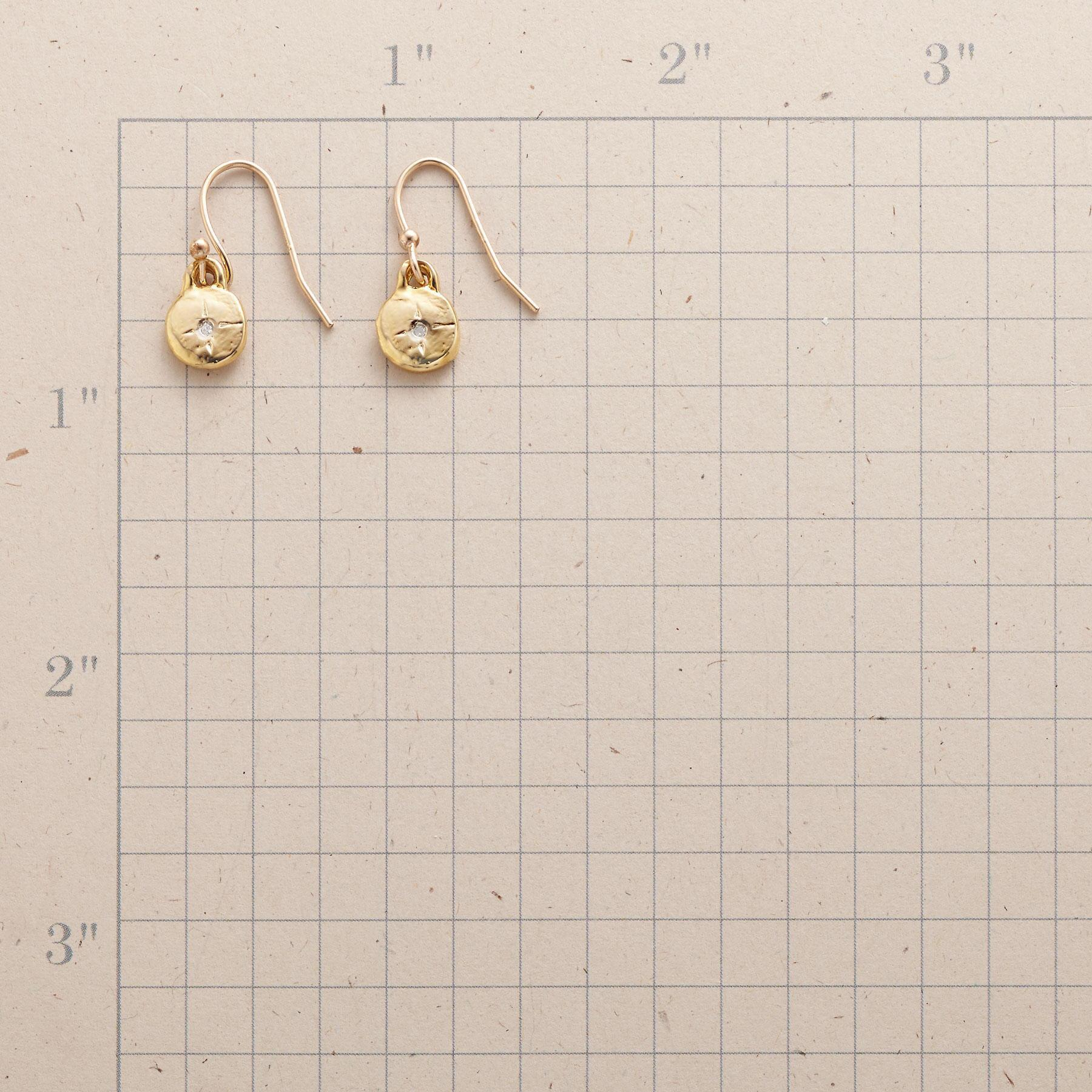 GOLD-FILLED LITTLE BIT EARRINGS: View 2