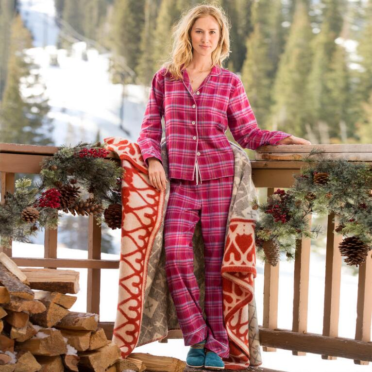 DREAMLAND FLANNEL PJ SET