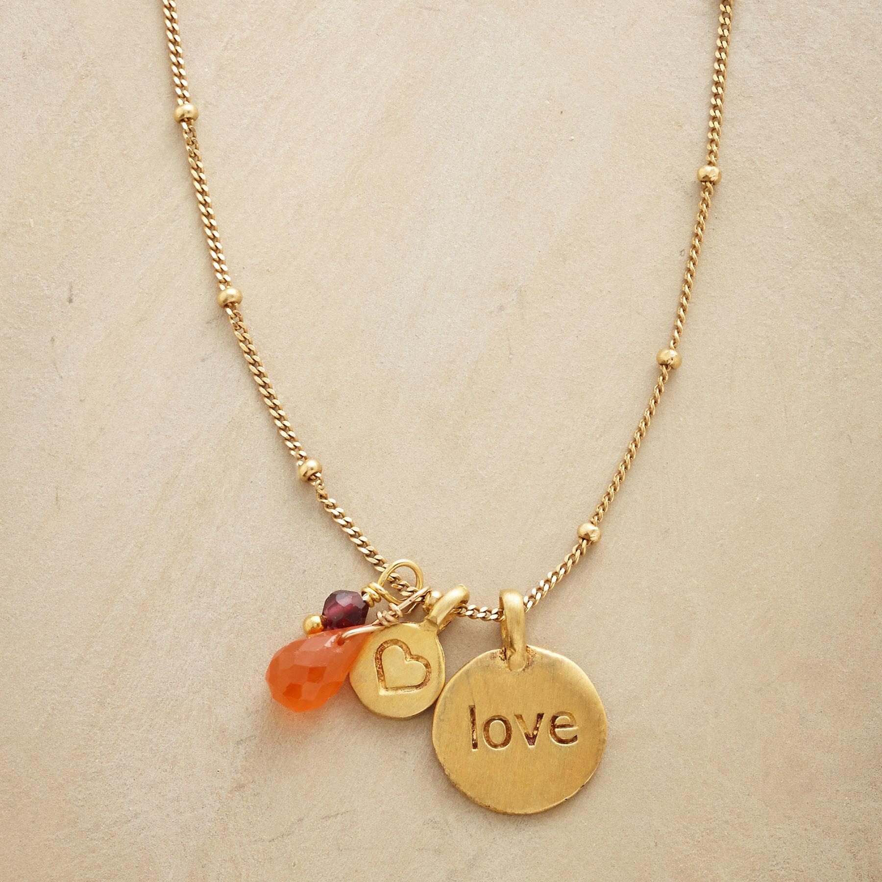 LOVE A LITTLE NECKLACE: View 1