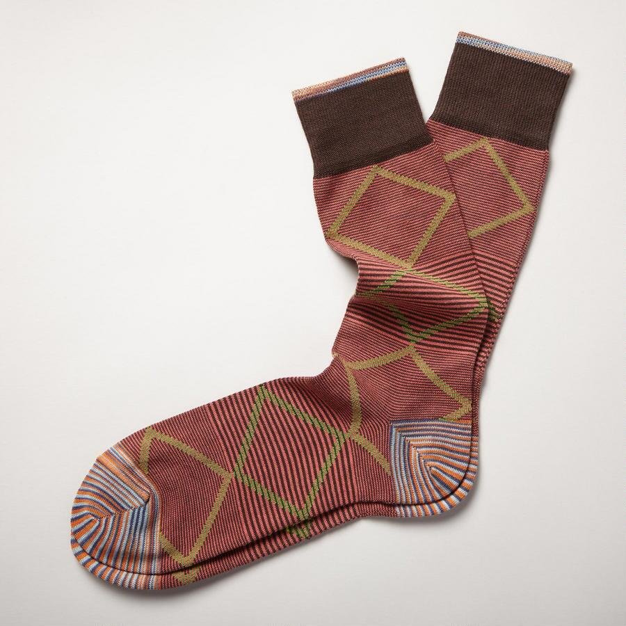 RUST CHARISMA COLOR SOCKS