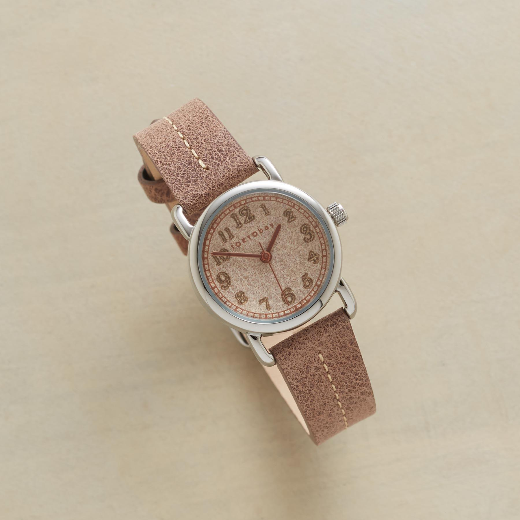 CAHOOTS LASER CUT LEATHER WATCH: View 1