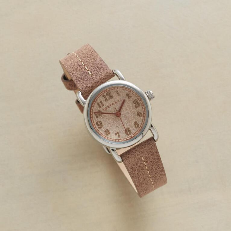 CAHOOTS LASER CUT LEATHER WATCH