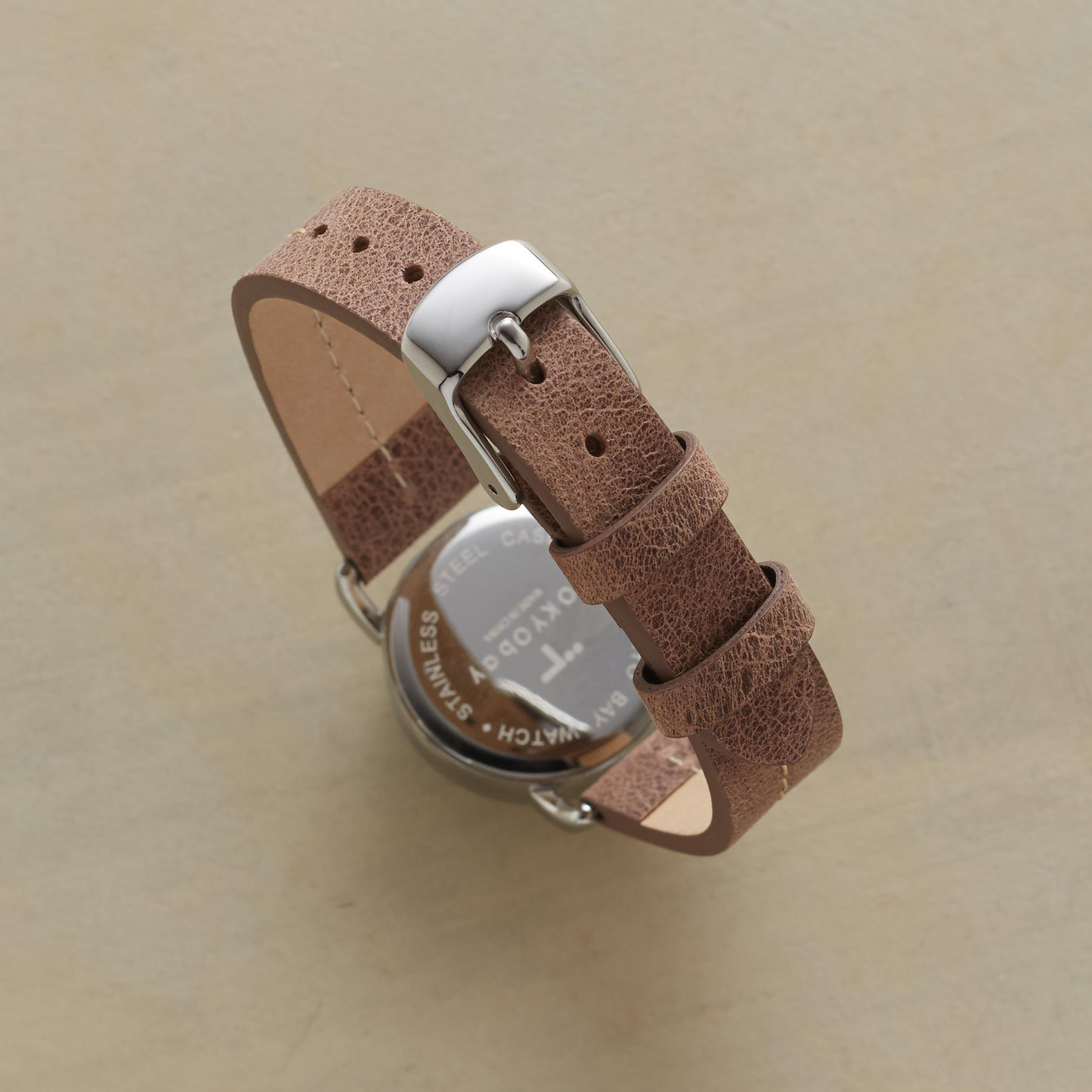 CAHOOTS LASER CUT LEATHER WATCH: View 2