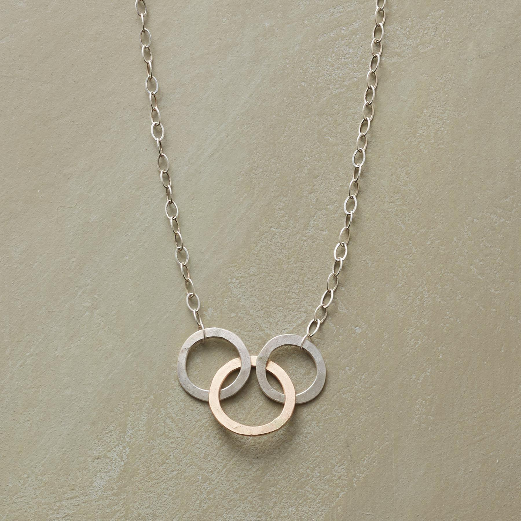 LINKED WITH LOVE NECKLACE: View 1