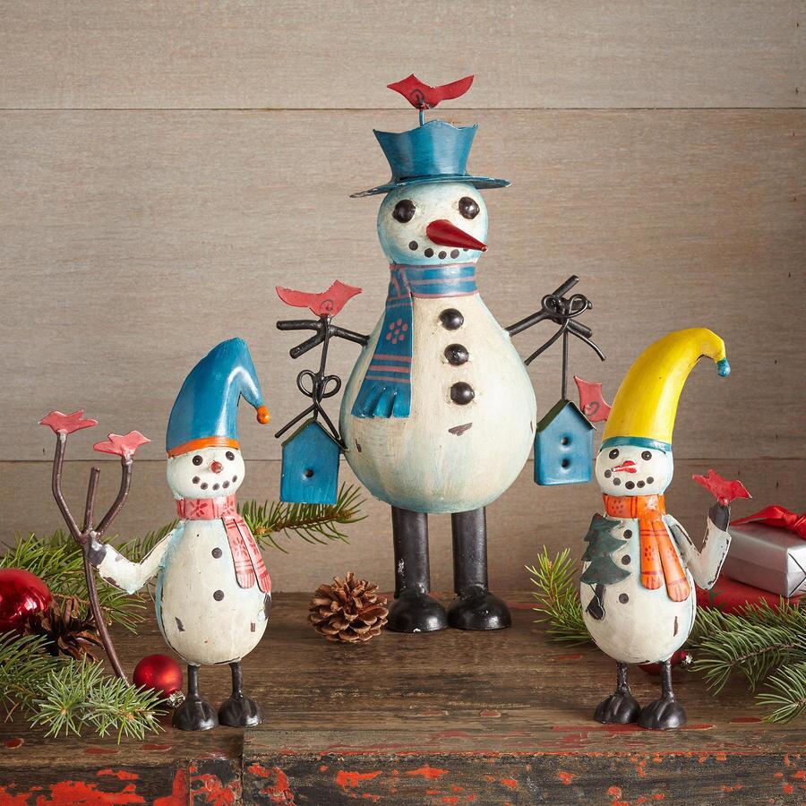 BIG CHILL SNOWMAN FAMILY S/3
