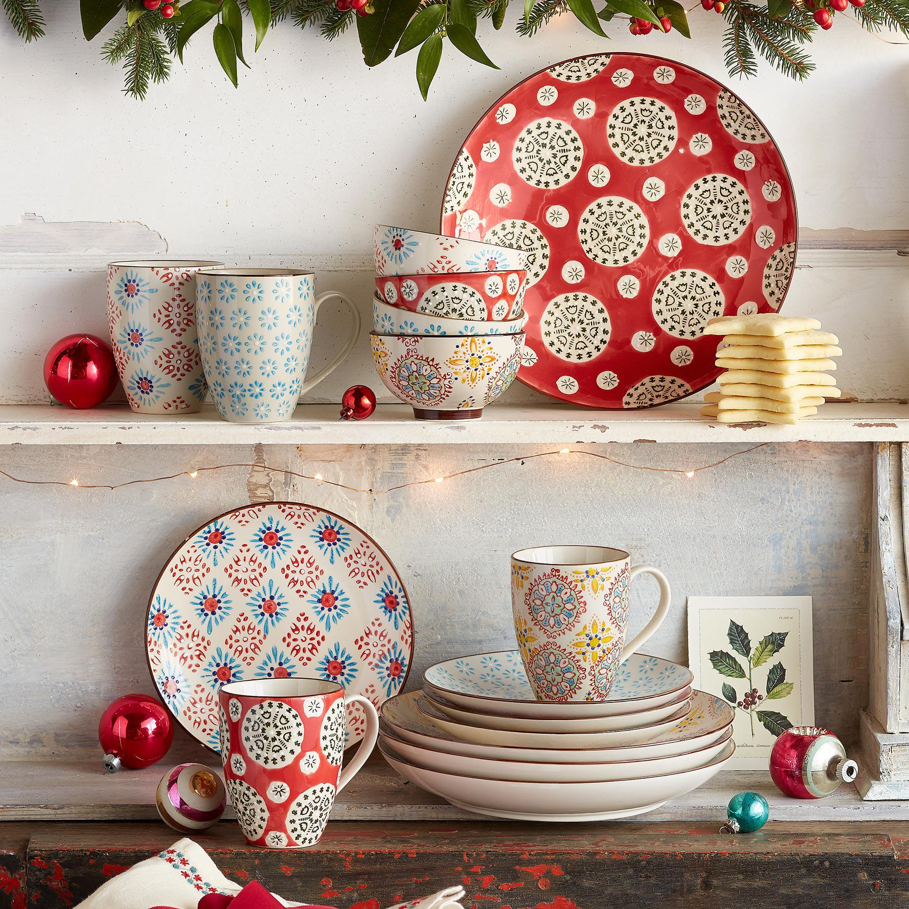 Boheme dinnerware from Sundance Catalog