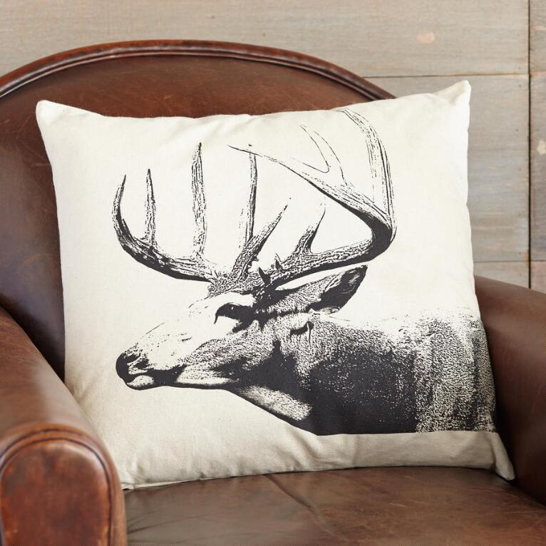 BUCKS COUNTY DEER PILLOW