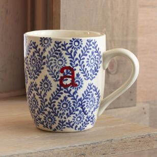 TO THE LETTER MUGS - BLUE
