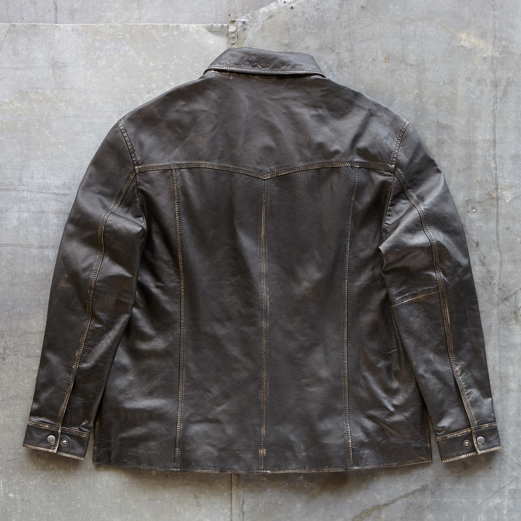 RHODES LEATHER JACKET: View 2