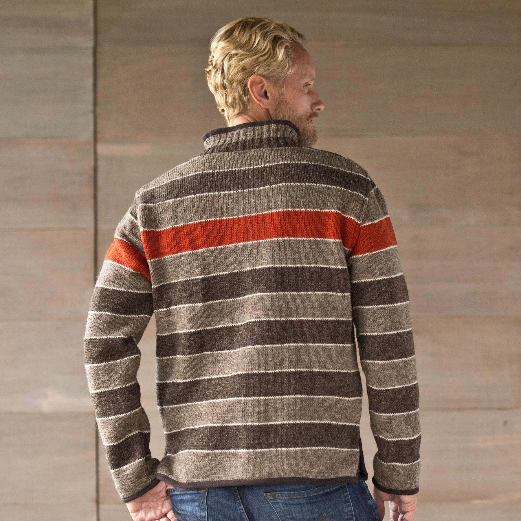 HIGHLAND STRIPED SWEATER: View 2