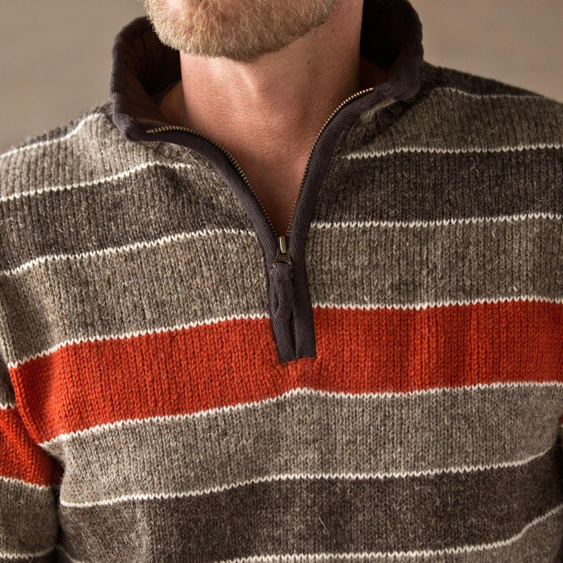 HIGHLAND STRIPED SWEATER: View 3