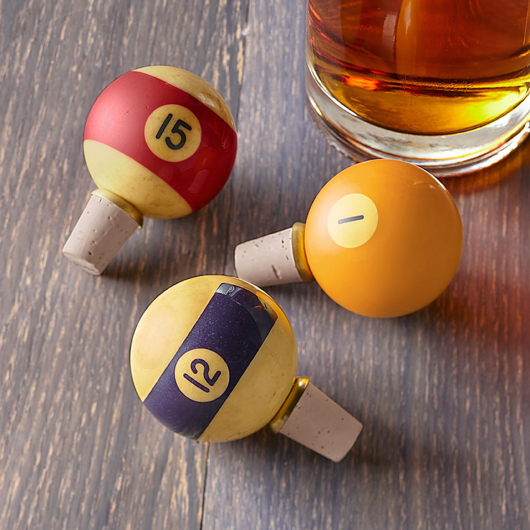 BILLIARD BALL STOPPERS: View 1