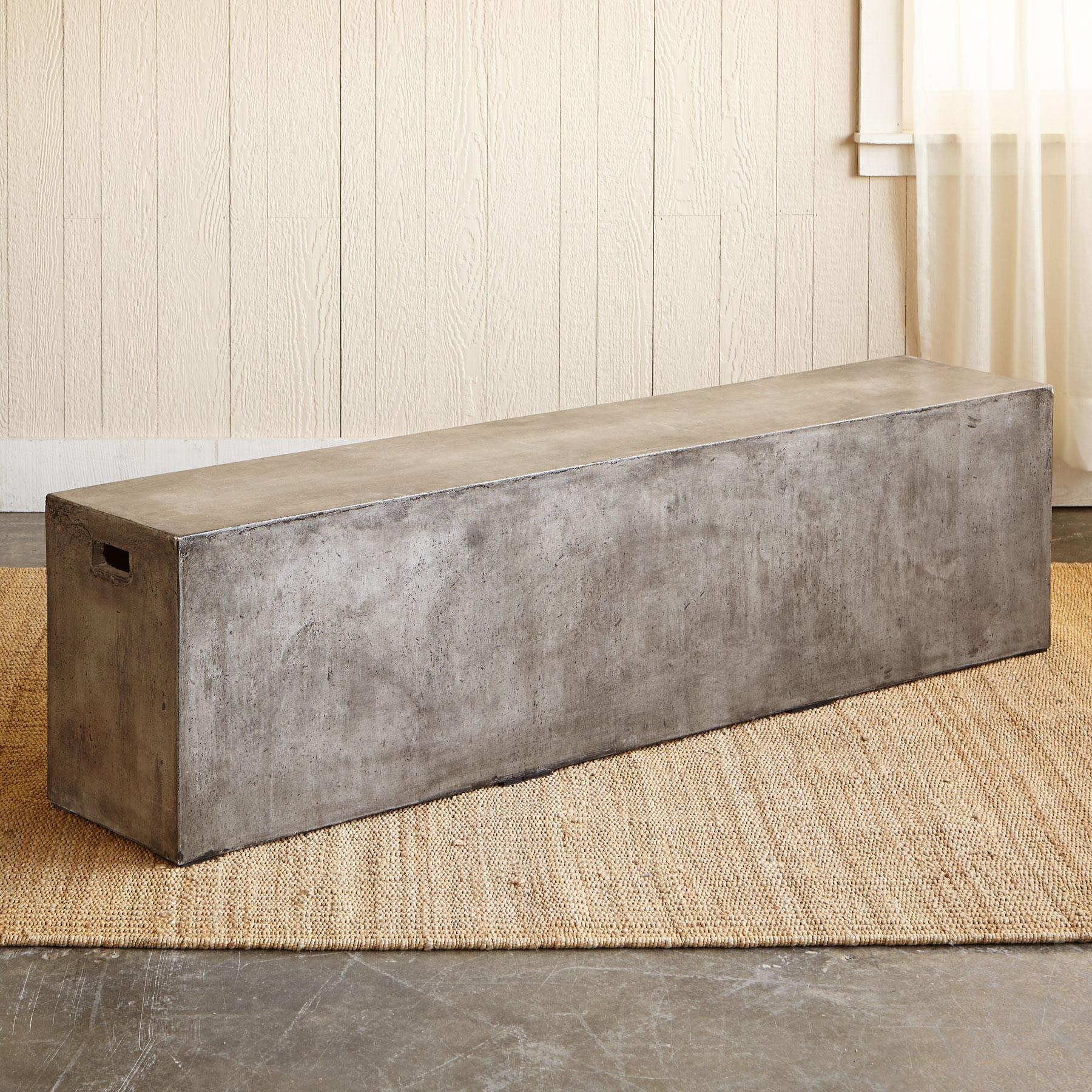 GRAVITAS CEMENT BENCH: View 2