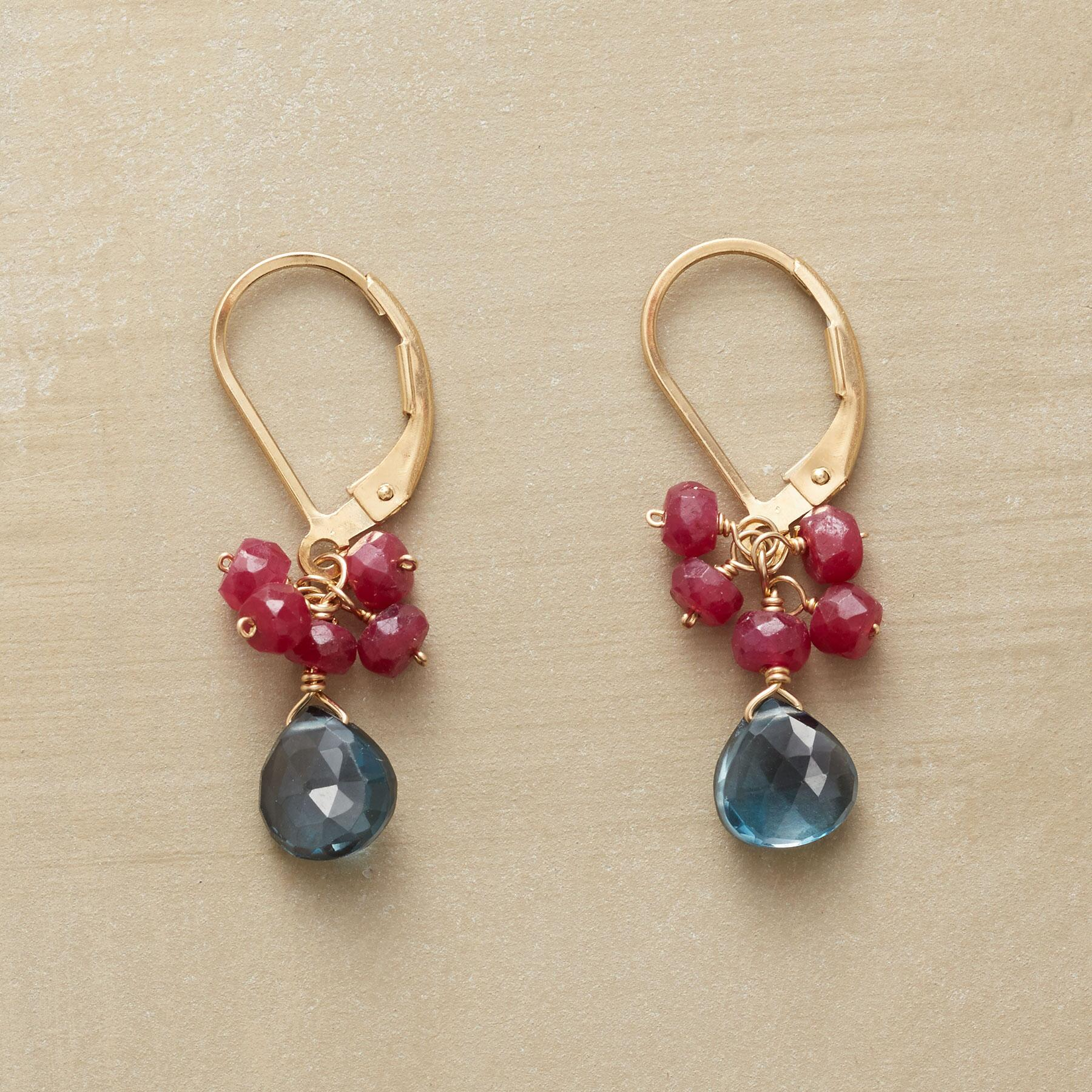 RUBY ROYALE EARRINGS: View 1