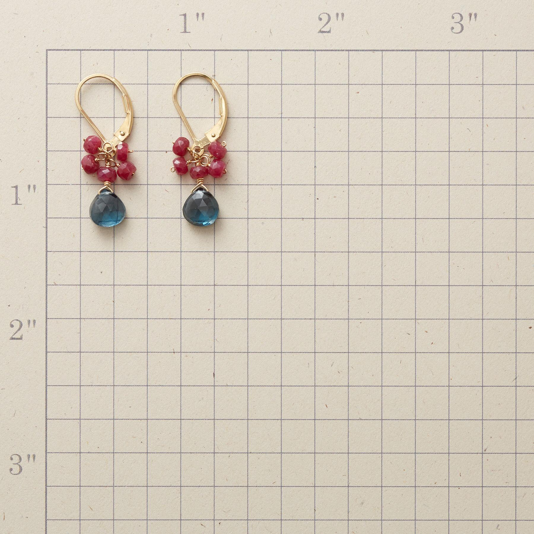 RUBY ROYALE EARRINGS: View 2