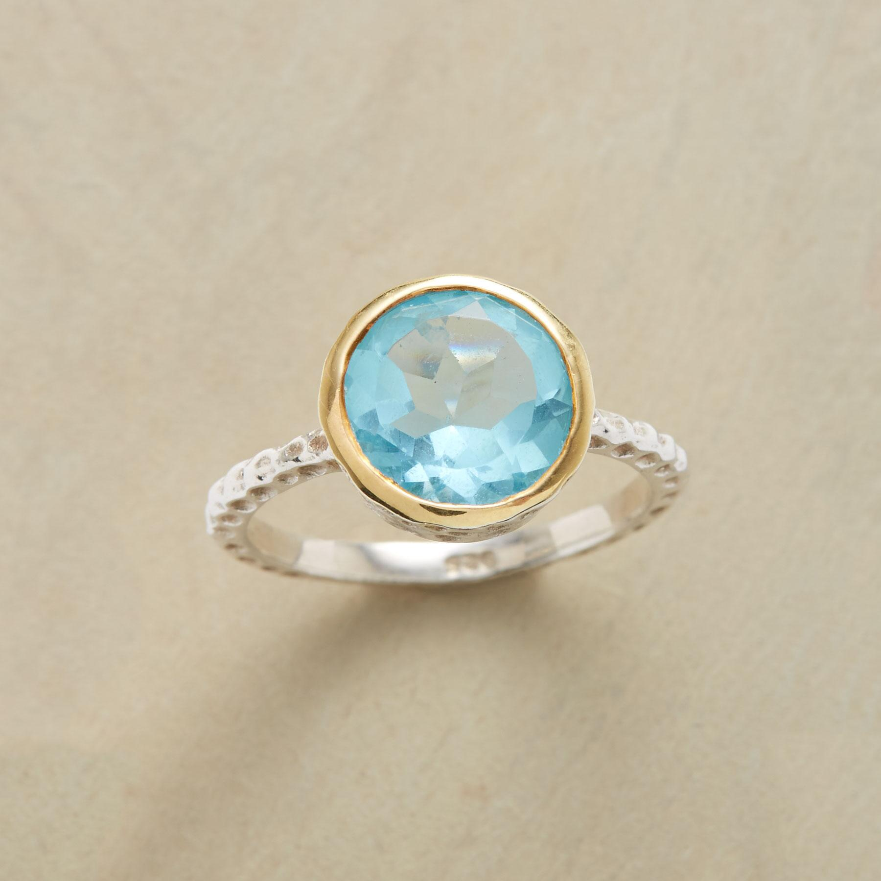 STARRY BLUE RING: View 1