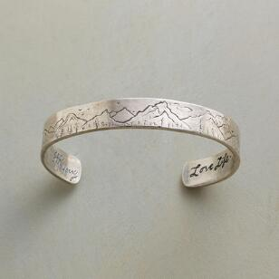 MOUNTAINSCAPE CUFF