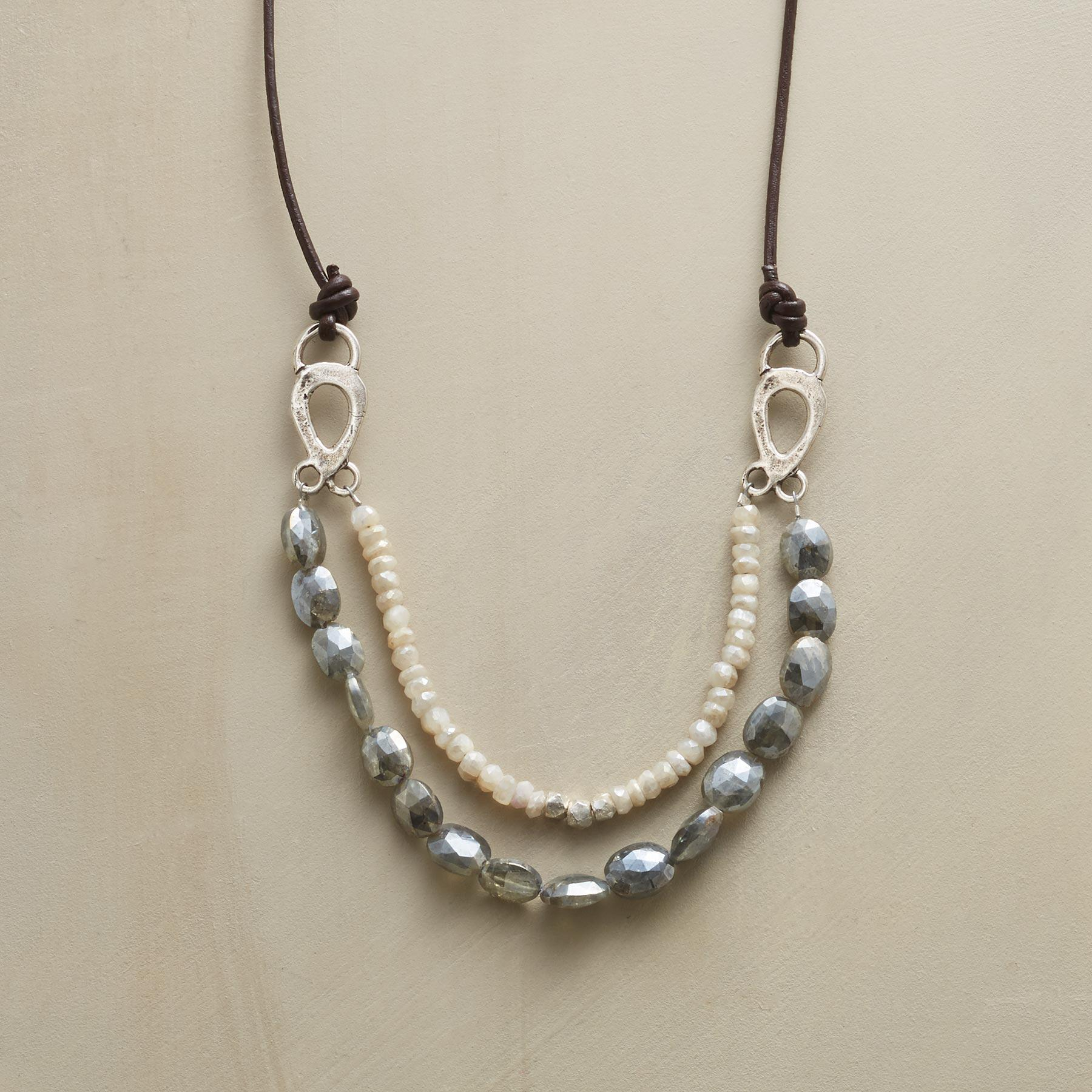 DISTANT WAVES NECKLACE: View 1