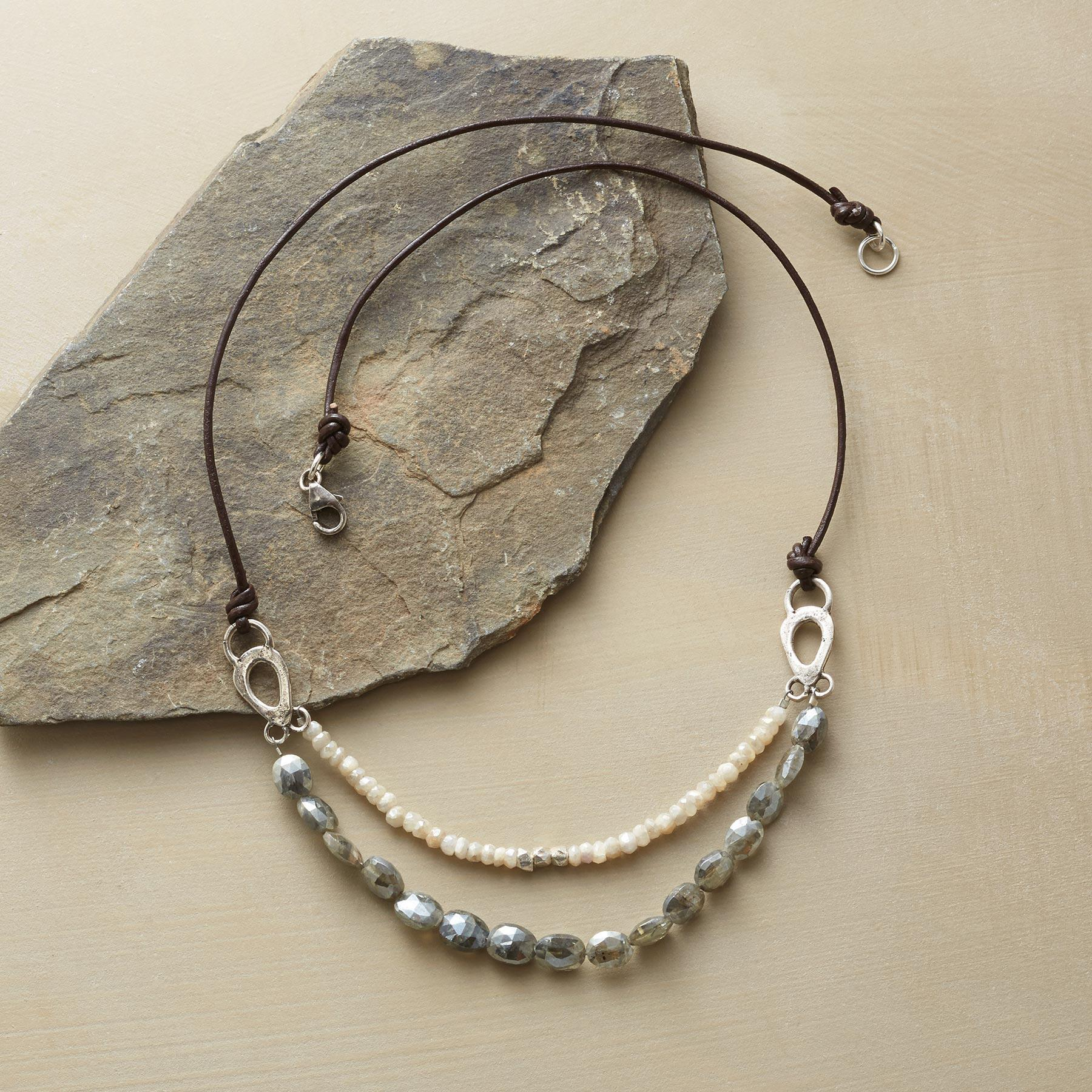 DISTANT WAVES NECKLACE: View 2