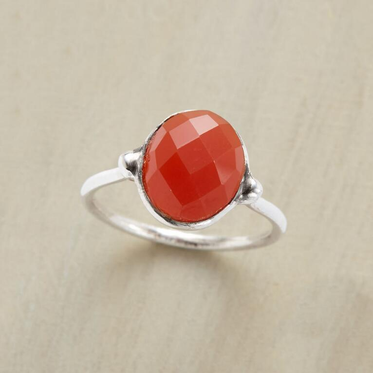 RED ONYX RING