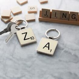 SCRABBLE KING KEYRING