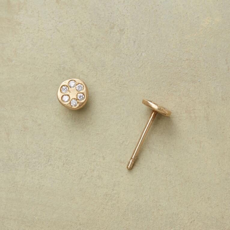 Little Diamond Earrings View 1