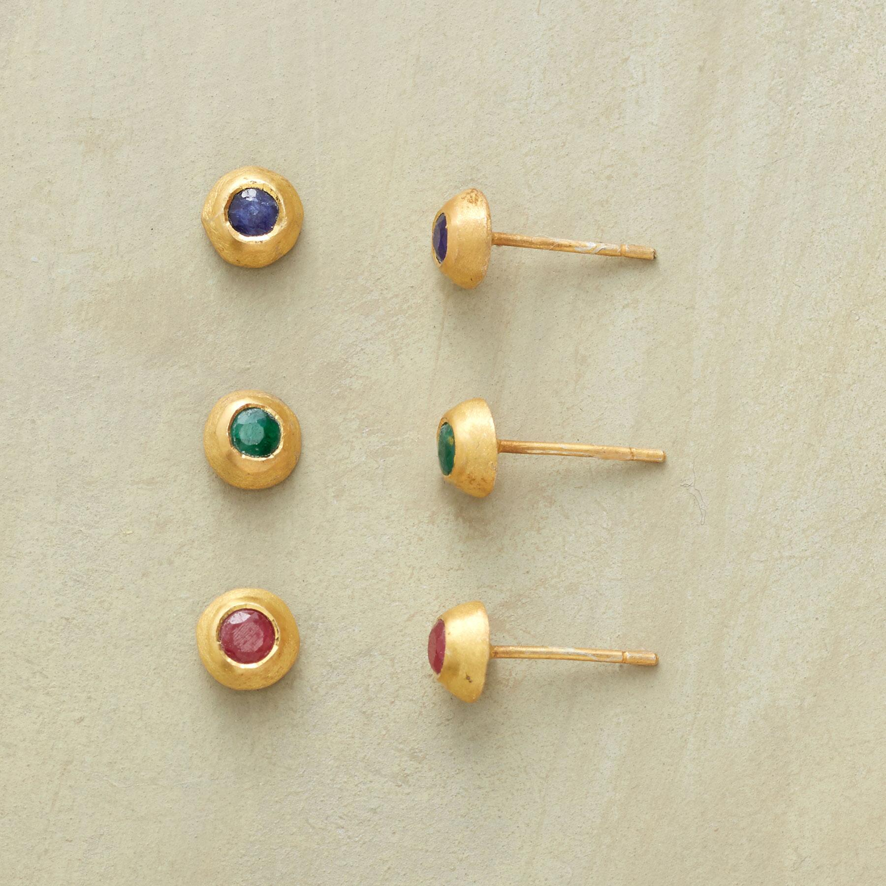 CUPOLA EARRING TRIO: View 1