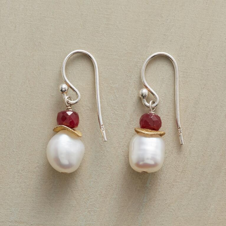 SILKWORM EARRINGS
