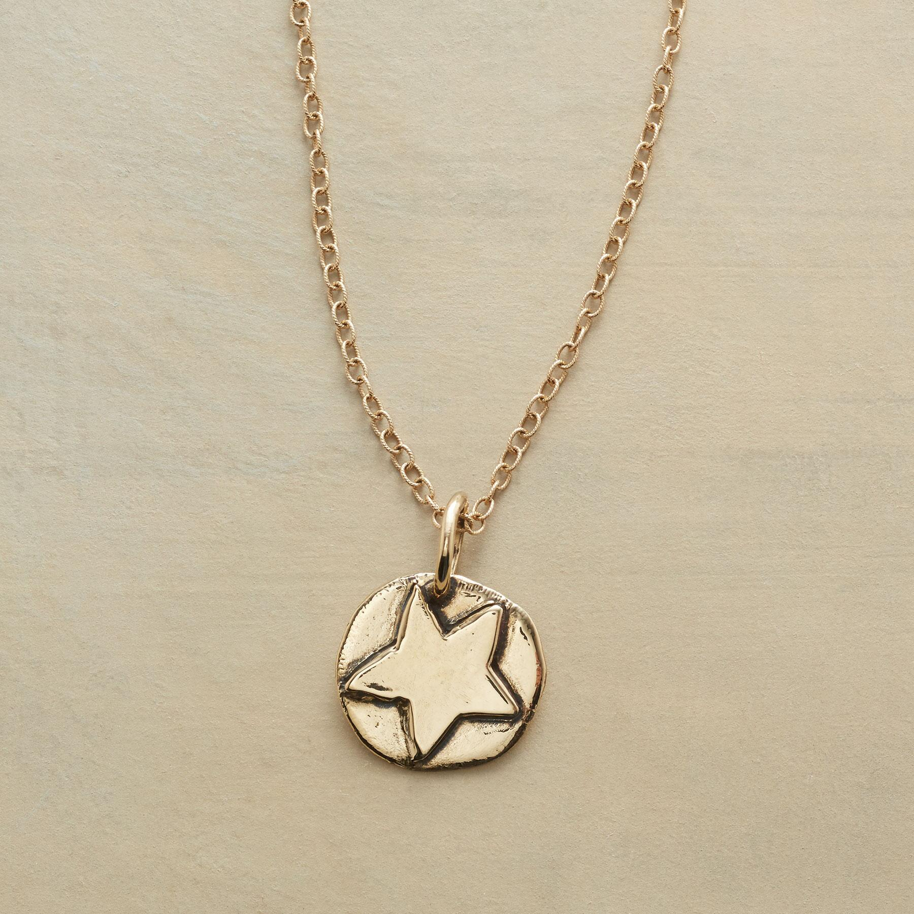 14KT GOLD STAR CHARM: View 3