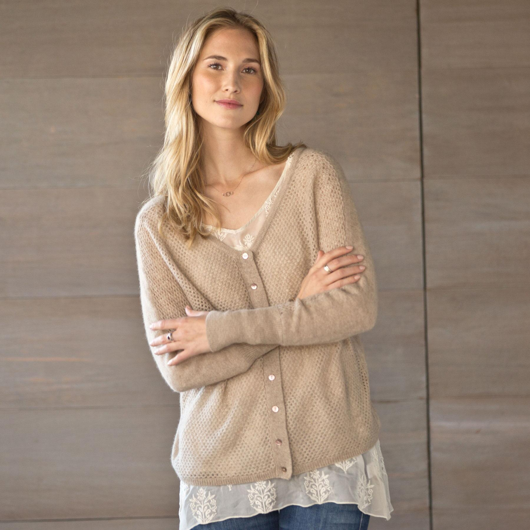 SUBTLE LUXURY REVERSIBLE SWEATER: View 1