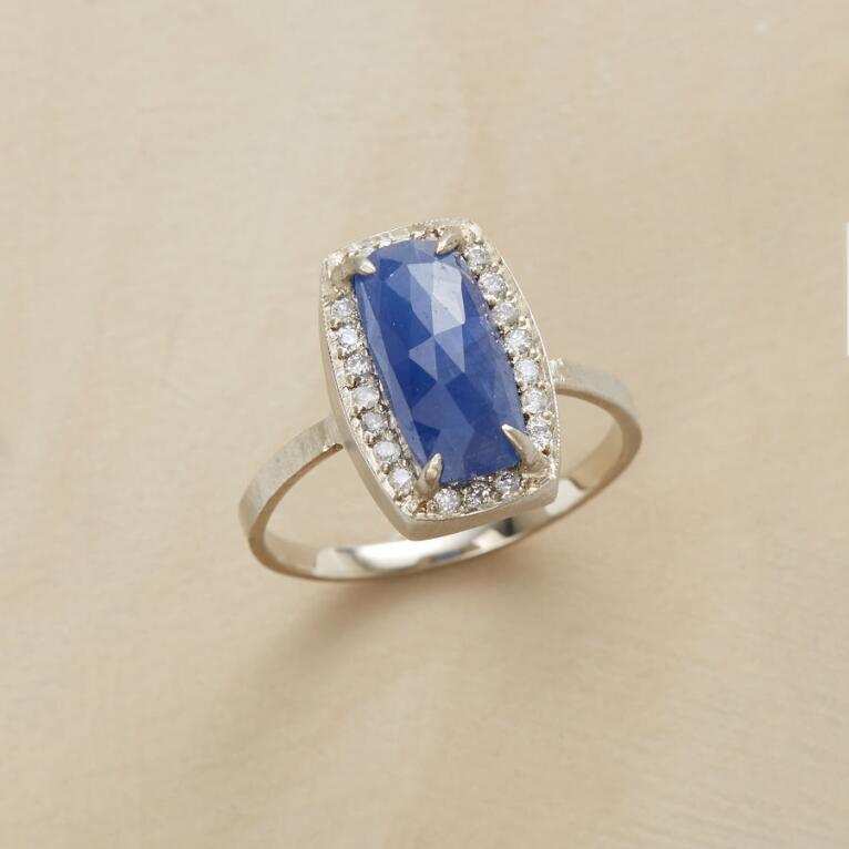 SOMETHING BLUE RING
