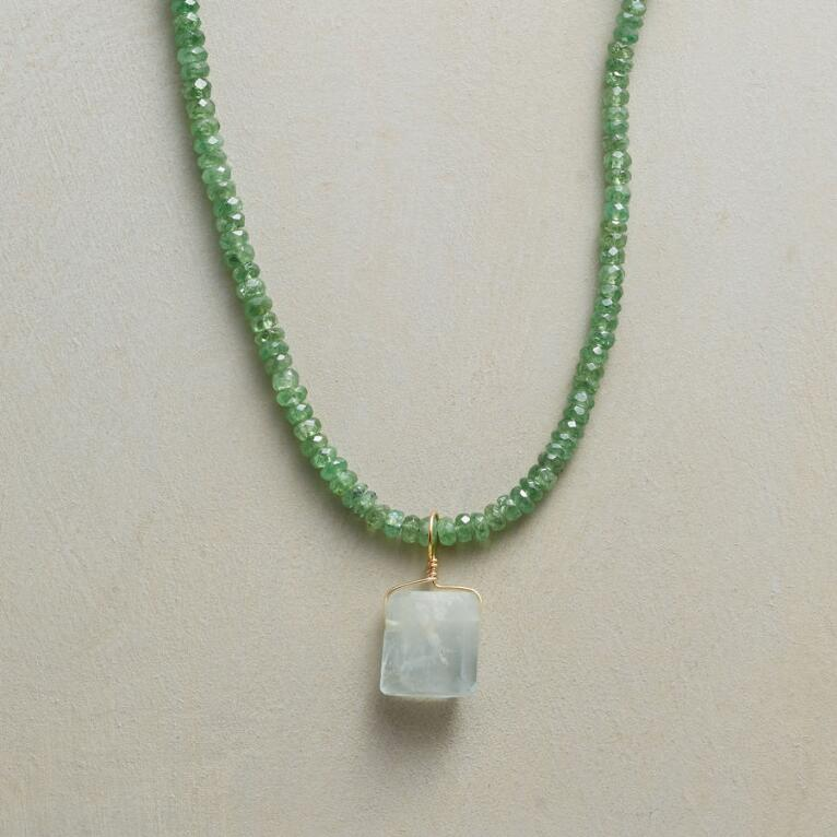 SWEET & TSAVORITE NECKLACE