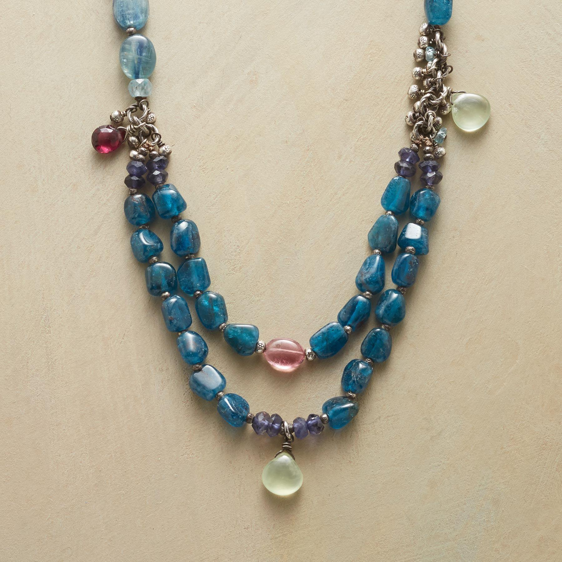 AEGEAN BLUES NECKLACE: View 1